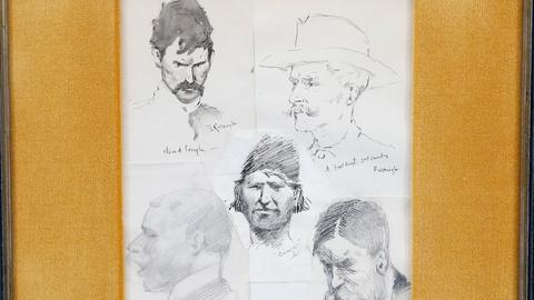 Antiques Roadshow -- S18 Ep3: Appraisal: Sketches Attributed to Frederic Remingto