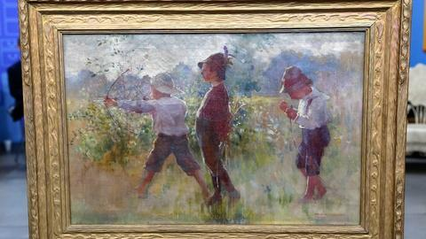 Antiques Roadshow -- S18 Ep3: Appraisal: 1902 Adam Emory Albright Oil Painting