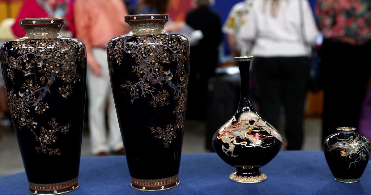 Appraisal Japanese Meiji Cloisonn Vases Ca 1890 Antiques