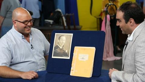 "Antiques Roadshow -- S18 Ep4: Owner Interview: Bert Lahr's ""Wizard of Oz"" Script"