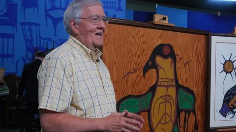 Antiques Roadshow -- S18 Ep4: Owner Interview: 1968 Norval Morrisseau Paintings