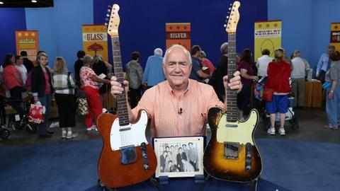 Antiques Roadshow -- S18 Ep4: Owner Interview: Fender Telecaster Guitars and Beat