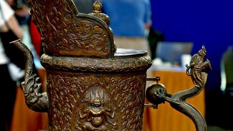 Antiques Roadshow -- S18 Ep5: Appraisal: 19th-Century Himalayan Bronze Ewer