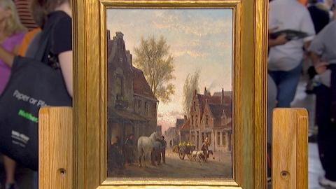 Antiques Roadshow -- S18 Ep5: Appraisal: 1886 Cornelis Christian Dommersen Painti
