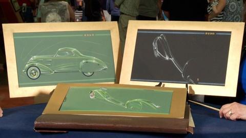 Antiques Roadshow -- S18 Ep5: Web Appraisal: Budd Co. Car Body Artwork