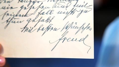 Antiques Roadshow -- Appraisal: 1933 Sigmund Freud & Carl Jung Letters