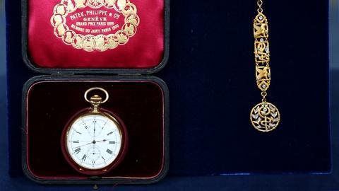 Antiques Roadshow -- S18 Ep6: Appraisal: Patek Phillippe Watch & Fob, ca. 1906