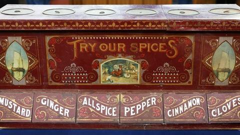 Antiques Roadshow -- S18 Ep6: Appraisal: Countertop Spice Box Display, ca. 1890