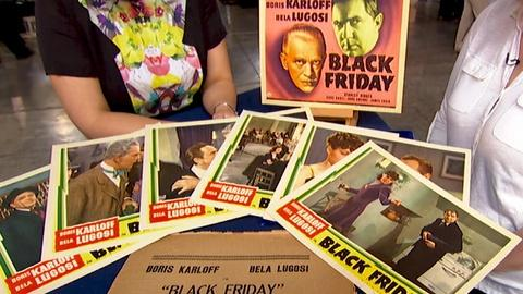 "Antiques Roadshow -- S18 Ep7: Appraisal: 1940 ""Black Friday"" Lobby Cards"
