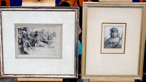Antiques Roadshow -- S18 Ep7: Appraisal: Rembrandt & Whistler Etchings