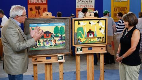 Antiques Roadshow -- S21 Ep28: Appraisal: Clementine Hunter Paintings, ca. 1980