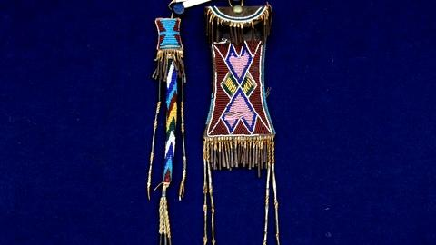 Antiques Roadshow -- S18 Ep8: Appraisal: Kiowa Beaded Strike-A-Light & Awl Case
