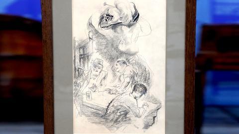 Antiques Roadshow -- S18 Ep8: Appraisal: 1941 George Grosz Illustration