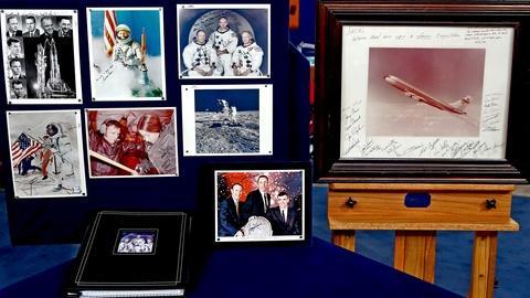 Antiques Roadshow -- S18 Ep8: Appraisal: NASA Space Program Autographed Photos