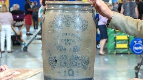Antiques Roadshow -- S18: Web Appraisal: Kentucky Retailer's Crock, ca. 1880