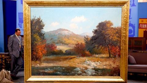 Antiques Roadshow -- S18 Ep9: Appraisal: Porfirio Salinas Oil Painting, ca. 1935