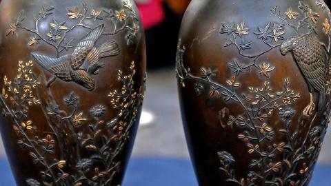 Antiques Roadshow -- S18 Ep9: Appraisal: Japanese Mixed-Metal Vases, ca. 1900