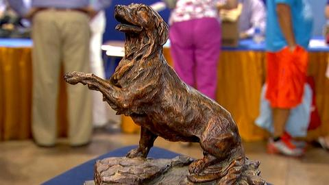 Antiques Roadshow -- S18 Ep10: Appraisal: 20th-Century Walter Matia Bronze Dog