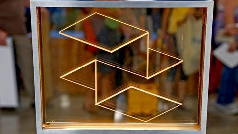 Antiques Roadshow -- S18 Ep10: Appraisal: 1970 Josef Albers Glass Sculpture