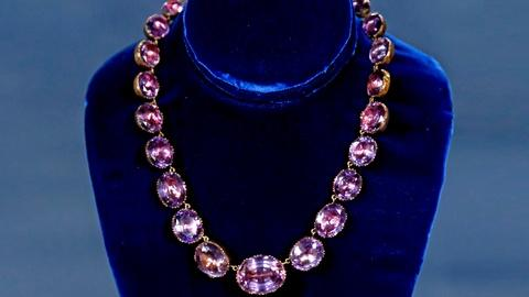 Antiques Roadshow -- S18 Ep10: Appraisal: Amethyst Collet Necklace & Gold, Diamon