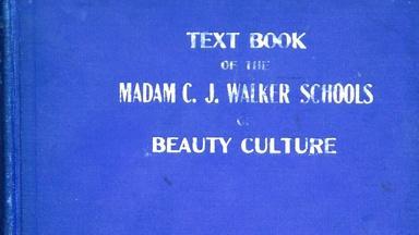 Appraisal: Madam C.J. Walker Beauty Book, ca. 1928