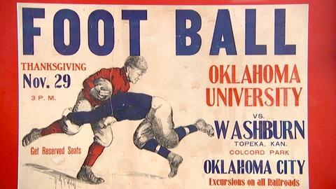 Antiques Roadshow -- S18 Ep11: Appraisal: 1906 Oklahoma University Football Poste