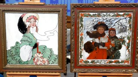 Antiques Roadshow -- S18 Ep11: Appraisal: Eugenie Wireman Illustrations, ca. 1908