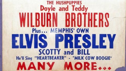 Antiques Roadshow -- S18 Ep12: Appraisal: 1955 Elvis Presley Concert Poster