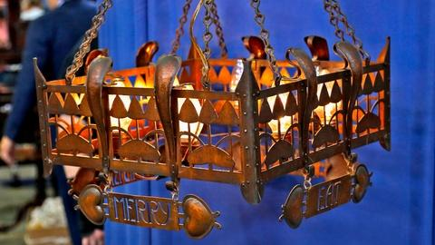 Antiques Roadshow -- S18 Ep12: Appraisal: English Arts & Crafts Chandelier, ca. 1