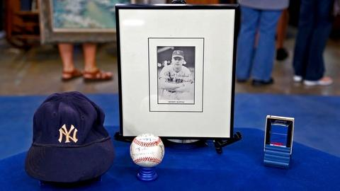 Antiques Roadshow -- S18 Ep12: Appraisal: Mickey Mantle Archive