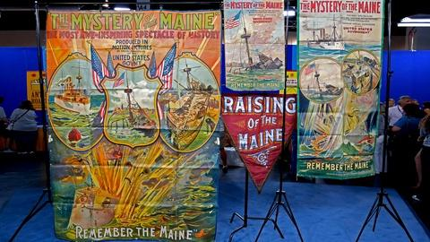 "Antiques Roadshow -- S18 Ep13: Appraisal: ""Mystery of the Maine"" Posters & Banner"
