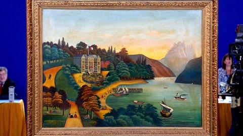 Antiques Roadshow -- S18 Ep13: Appraisal: Folk Art Oil Painting, ca. 1880