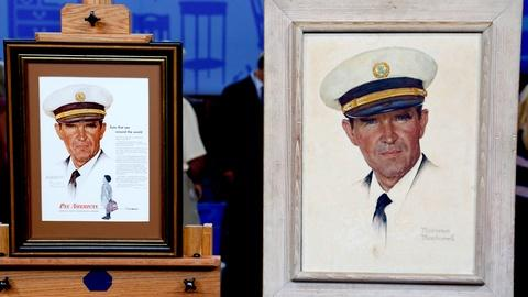 "Antiques Roadshow -- S18 Ep13: Appraisal: Norman Rockwell ""Portrait of a Pilot"" O"