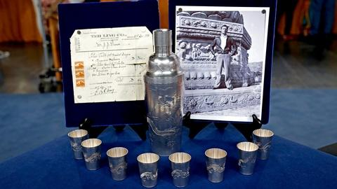 Antiques Roadshow -- S18 Ep13: Appraisal: Chinese Export Silver Cocktail Set