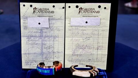 Antiques Roadshow -- S18 Ep13: Appraisal: Charles Loloma Bracelets, ca. 1981