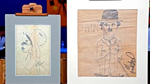 Antiques Roadshow -- S18 Ep13: Appraisal: Michael Jackson Drawings, ca. 1973