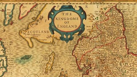 "Antiques Roadshow -- S18: Web Appraisal: ""Kingdom of England"" Map, ca. 1611"