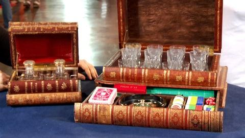 Antiques Roadshow -- S18: Web Appraisal: French Faux Book-Form Cases