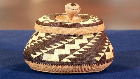 Antiques Roadshow -- S18: Web Appraisal: Elizabeth Hickox Treasure Basket, ca. 19