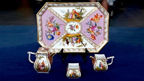 Antiques Roadshow -- S18 Ep14: Appraisal: Helena Wolfsohn Tea Set, ca. 1880