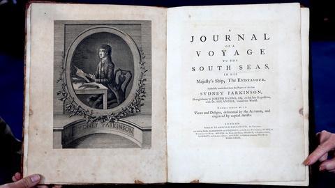 Antiques Roadshow -- S18 Ep14: Appraisal: 1773 Sydney Parkinson Journal
