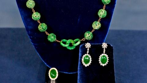 Antiques Roadshow -- S18 Ep14: Appraisal: Jade Jewelry Collection