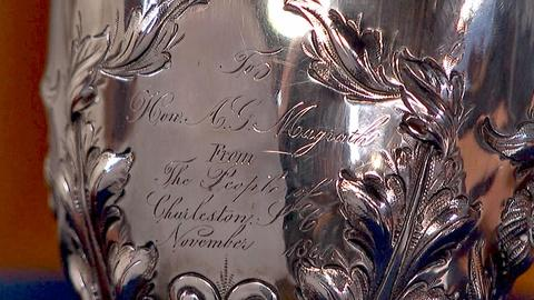 Antiques Roadshow -- S18 Ep14: Appraisal: 1860 Silver Presentation Cup