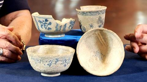 Antiques Roadshow -- S18: Web Appraisal: French Pottery from Shipwreck, ca. 1740