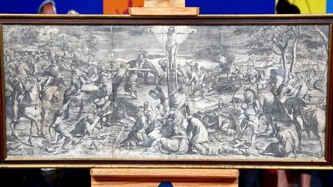 Antiques Roadshow -- S18 Ep15: Appraisal: 1589 Agostino Carracci Engraving