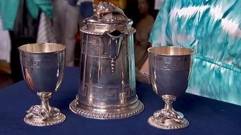 Antiques Roadshow -- S18 Ep15: Appraisal: Tiffany & Co. Tankard & Goblets