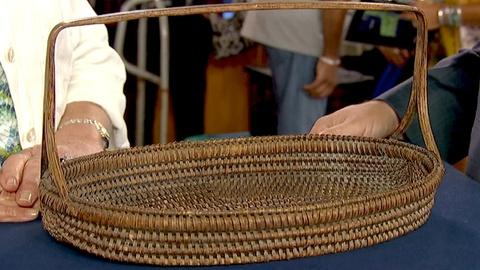 Antiques Roadshow -- S21 Ep29: Appraisal: Virginia Fork Handle Basket, ca. 1900