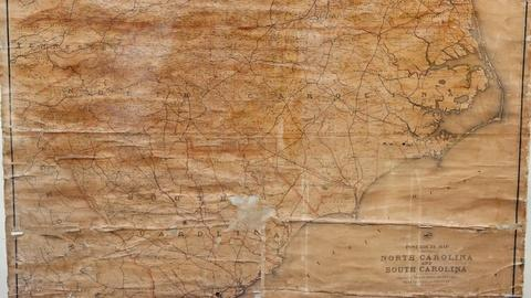 Antiques Roadshow -- S18 Ep16: Appraisal: 1888 Post Office Wall Map
