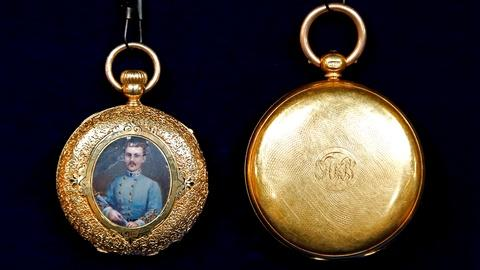 Antiques Roadshow -- S18 Ep16: Appraisal: Confederate Colonel's Watches, ca. 1860