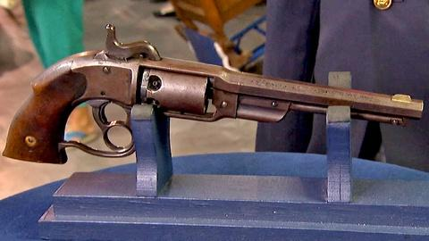 Antiques Roadshow -- S18 Ep17: Appraisal: Savage Navy Model Pistol, ca. 1862